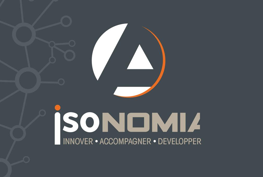 L'agence de publicité CHAT BOTTÉ à Rochefort à conçu les supports de communication pour ISONOMIA
