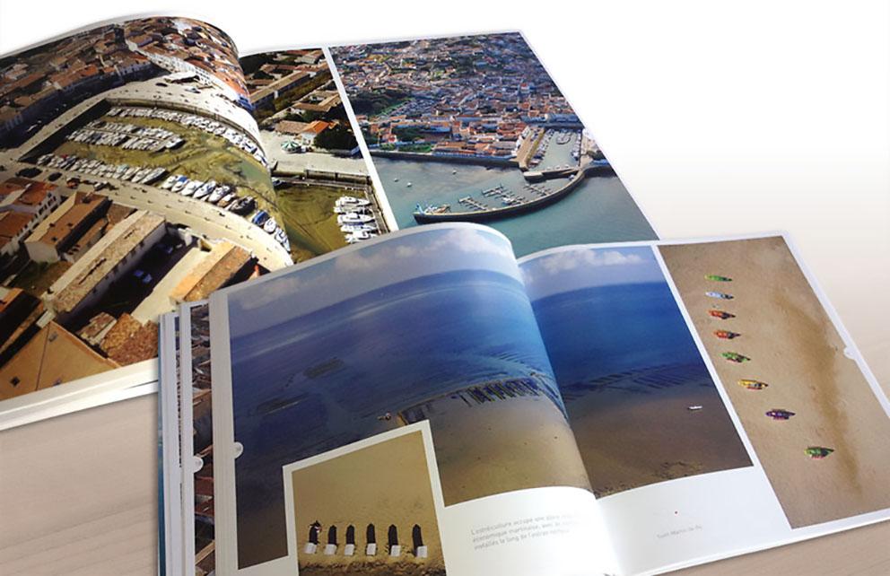 L'agence de publicité CHAT BOTTÉ en Charente-Maritime conçoit un ouvrage photographique pour les éditions DESERSON