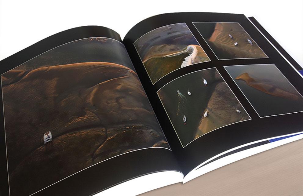 Le studio graphique CHAT BOTTÉ en Charente-Maritime conçoit un ouvrage photographique pour les éditions DESERSON