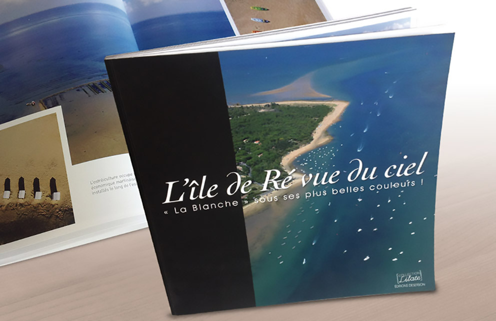 L'agence de communication CHAT BOTTÉ en Charente-Maritime conçoit un ouvrage photographique pour les éditions DESERSON